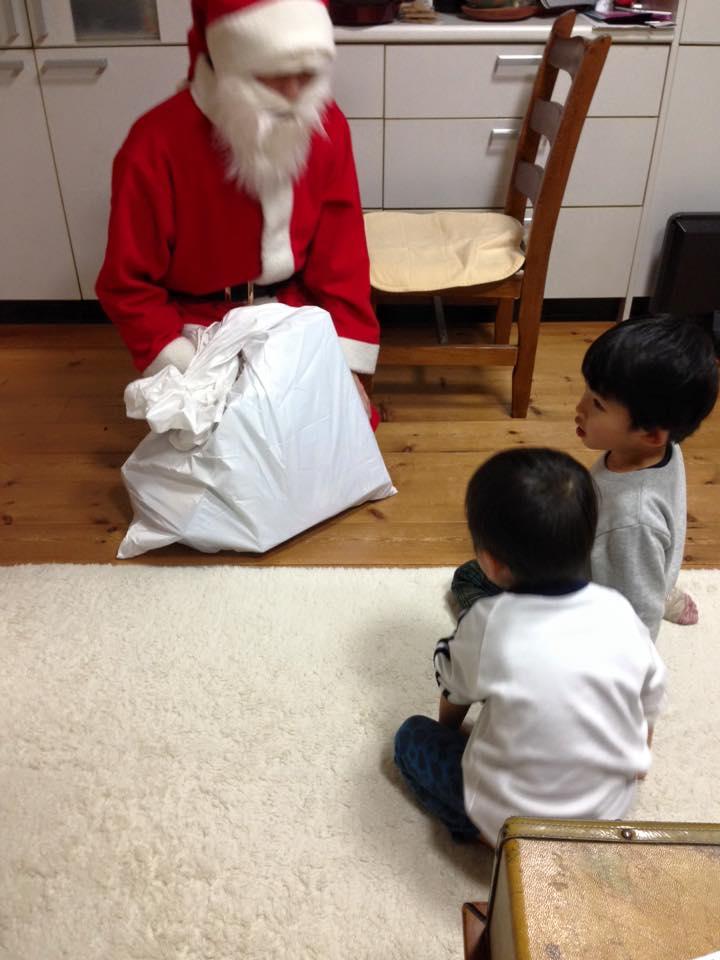 岡山サンタから、5年目の子ども達へ
