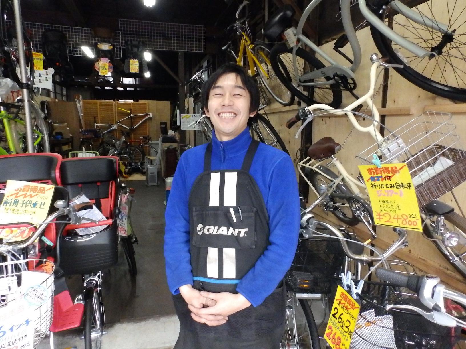 新しいのに昔風な町の自転車屋さん「ピンポンパン サイクル」@日暮里繊維街(読者特典付き)