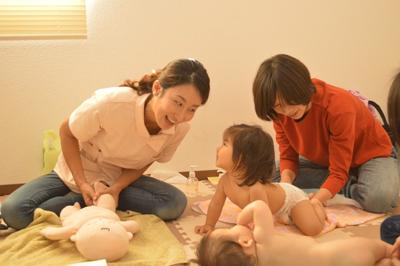 【子育て笑顔の輪】ベビーマッサージ教室・資格取得スクールSorriso(ソヒーゾ)