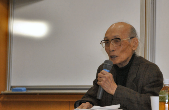 """豊かな社会への""""かすかな光"""" 教育学者・大田堯"""