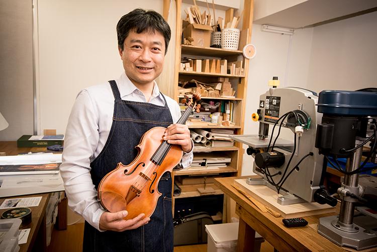 世界で唯一、自分だけのバイオリン作ってみる?:バイオリン製作かわむら工房(西日暮里)