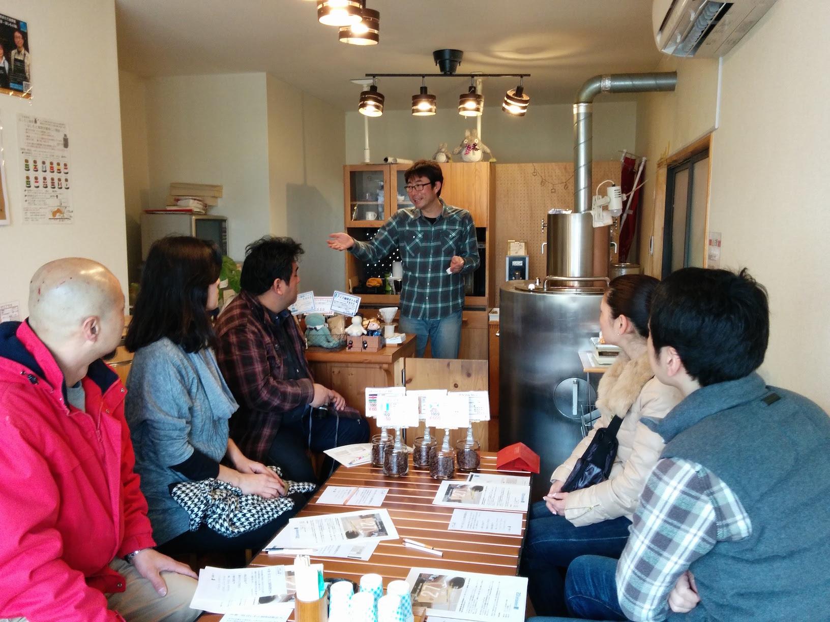 イベントレポート:珈琲テイスティングの会「コーヒーを飲みながら世界をぐる〜り!」(3月27日実施)