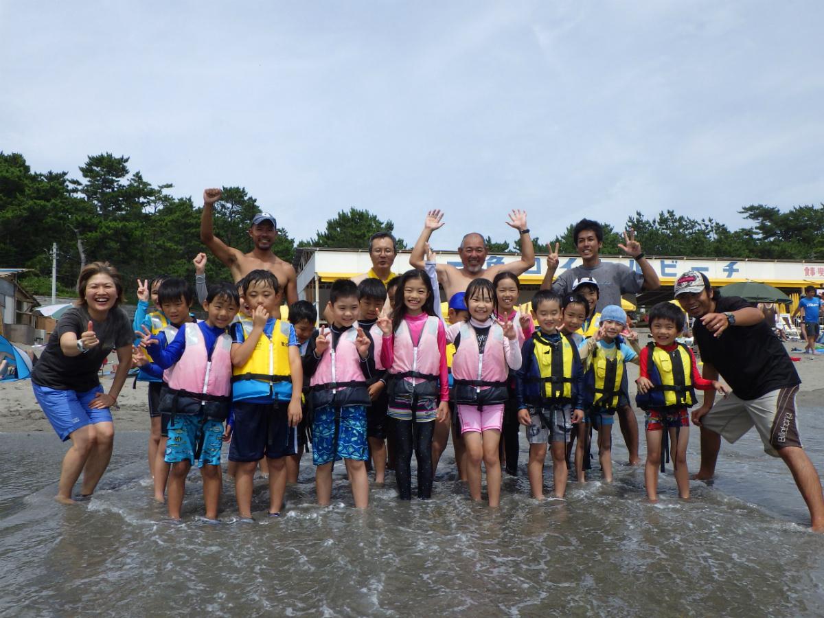 【U1・U3】神奈川県・葉山エリアのコース/夏休み子どもサマーキャンプ2016