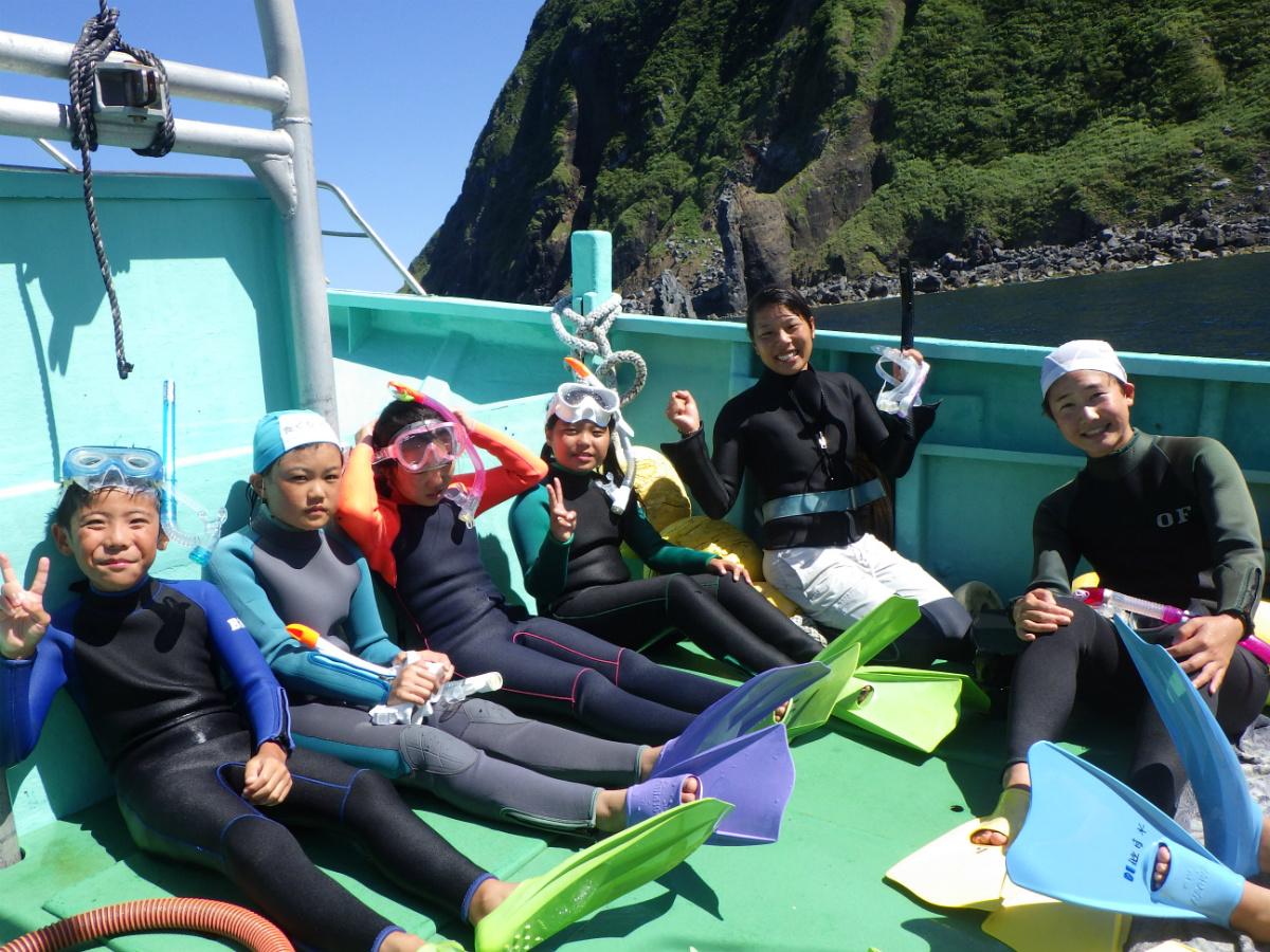 【U2】伊豆諸島・三宅島エリアのコース/夏休み子どもサマーキャンプ2016