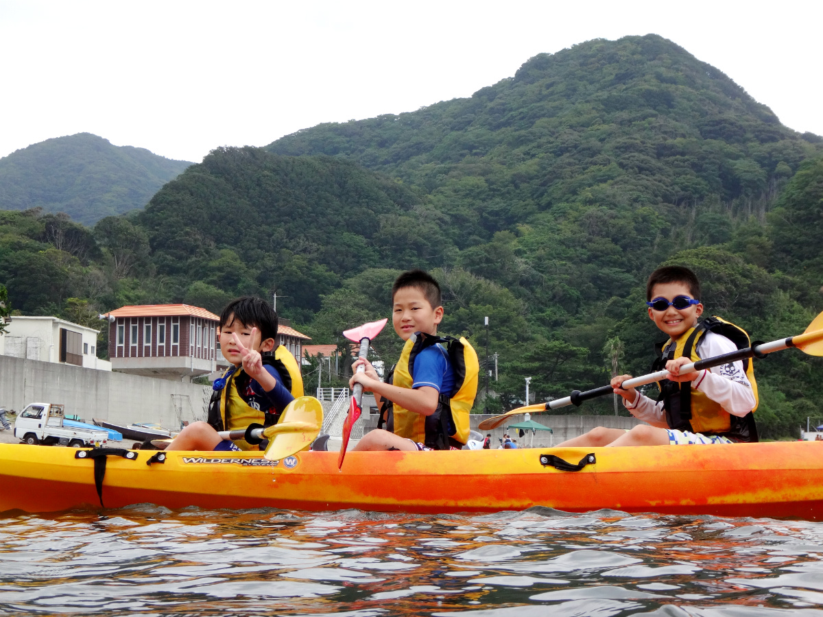 【K2・K4】静岡県・南伊豆エリアのコース/夏休み子どもサマーキャンプ2016