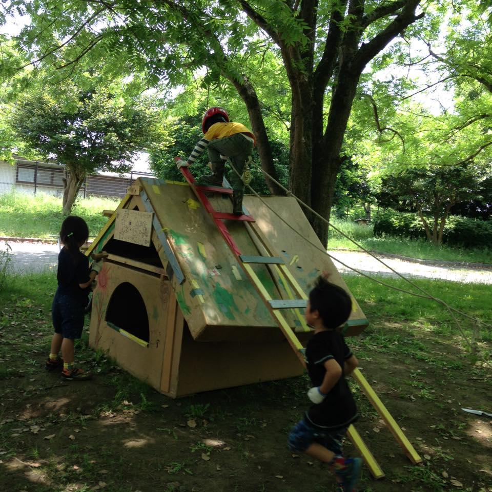 子ども達の遊び場から地域を考える―遊び場を考える会―