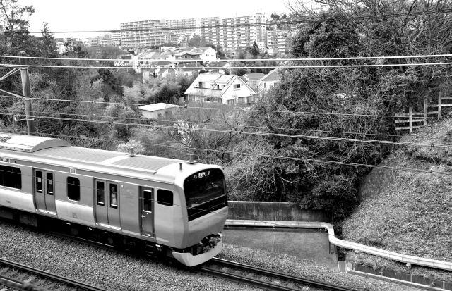晴れた昼間は電車を見に行こう