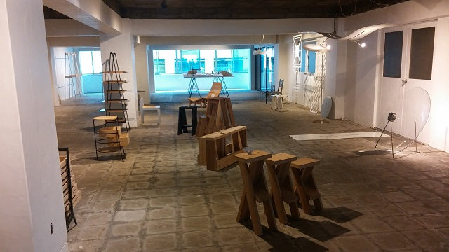 【まち】小石川大神宮のビルがおしゃれに変身!家具店オープン、週末には生鮮野菜や小物の「市」も/DESIGN小石川、TAIYOU no SHITA