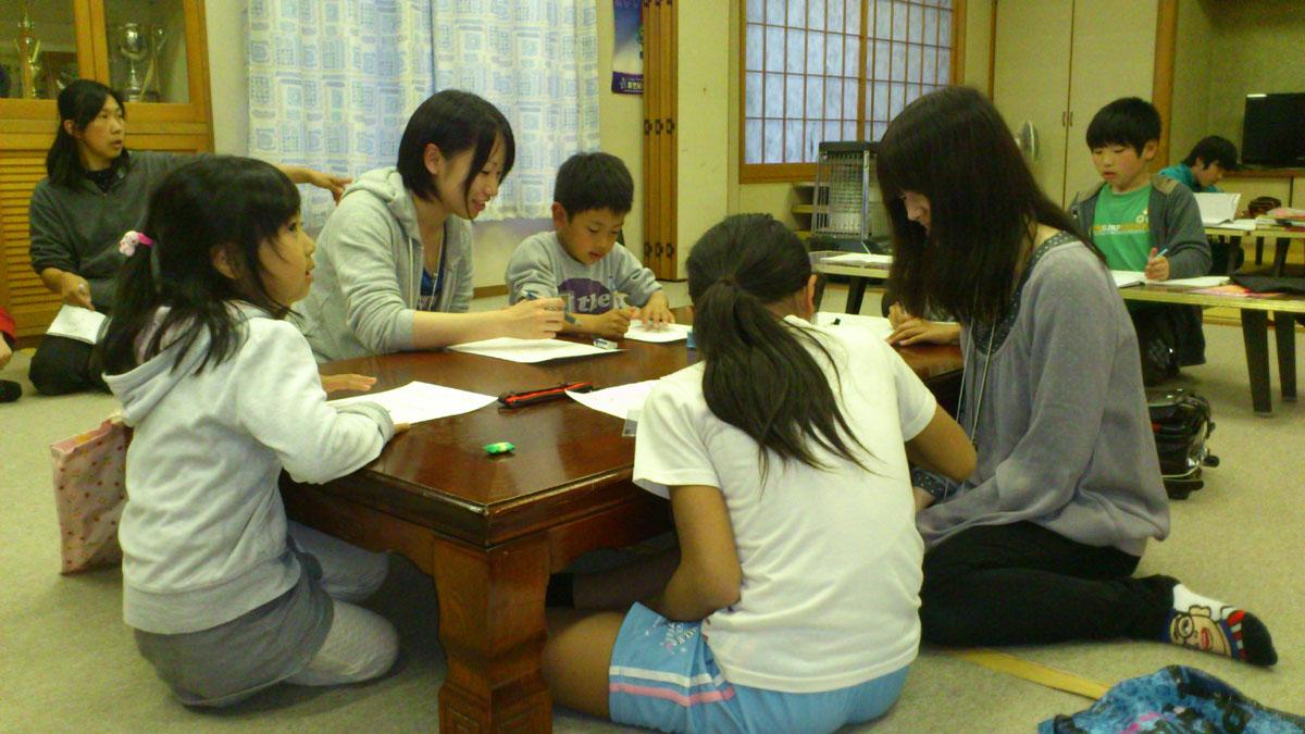 今、石巻の子どもたちに起こっていること-勉強する場所がない、居場所がない、そして経済的な余裕もない