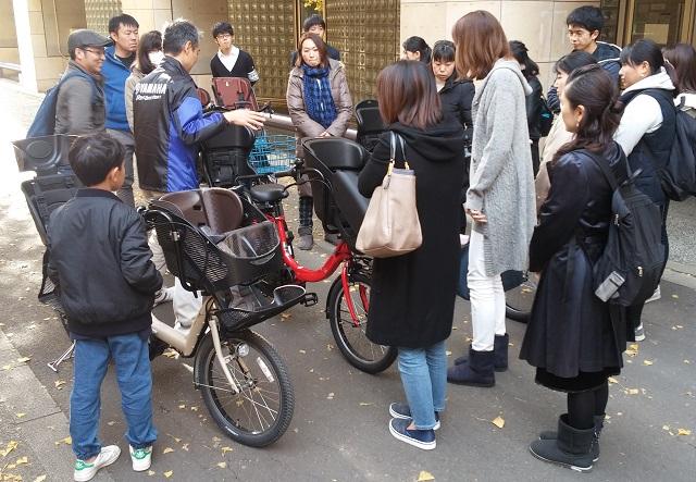 【イベント報告】誰も教えてくれなかった!?子ども乗せ自転車の安全な乗り方教室、東京大で開催