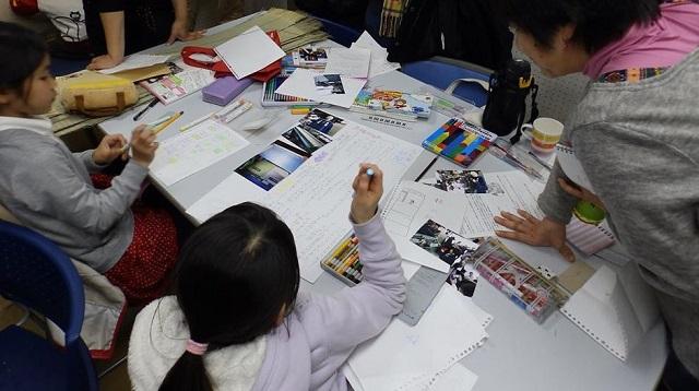 【JIBUNテレビ】荒川102主催で子どもたちが畳店を取材し新聞づくりに挑戦!