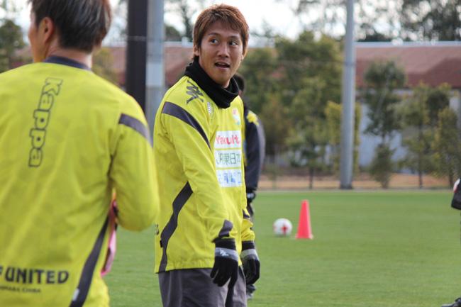 清武功暉選手「オフェンスの選手なので結果を残して認めてもらうしかないと思います」