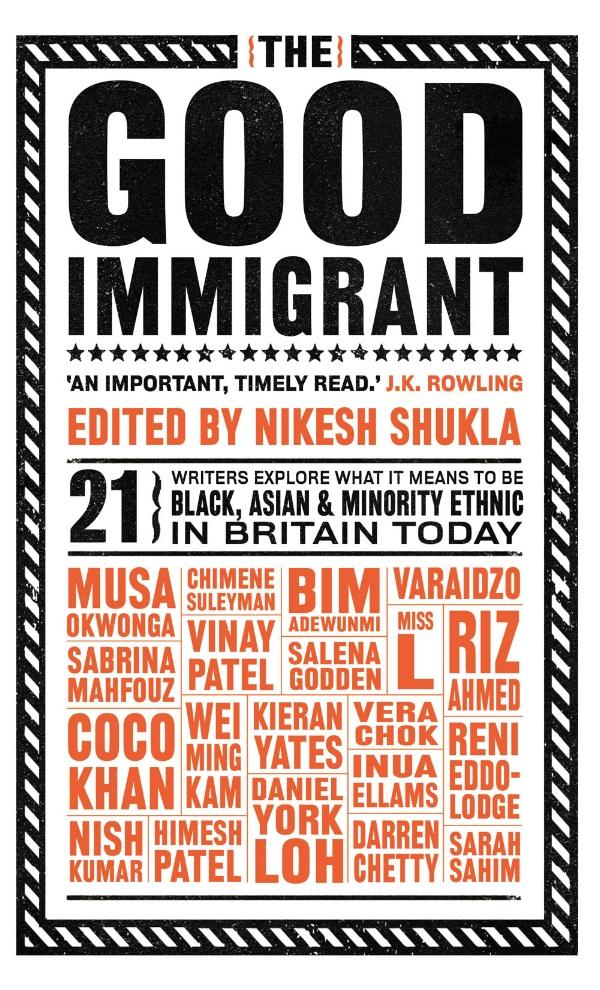 """【多文化な声】イギリス: エッセイ集""""The Good Immigrant""""(良き移民)が「2016年読者大賞」に"""