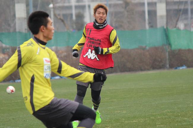 清武功暉選手「今年は好きな『8番』をつけさせてもらいましたし、結果でこのチームに貢献したい」