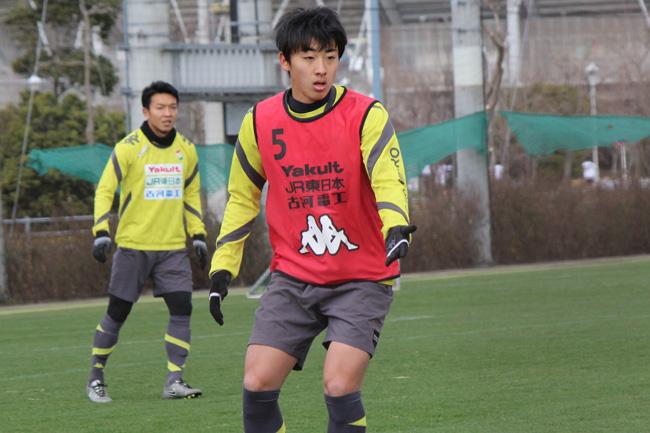 高橋壱晟選手「試合で結果を出せたら、それが確信に変わると思う」