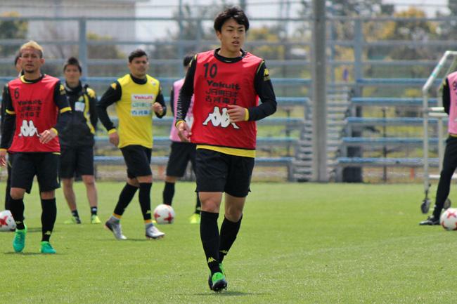 高橋壱晟選手「1点は1点なので、もう一回、しっかり練習に取り組んで、これを続けていけるように」