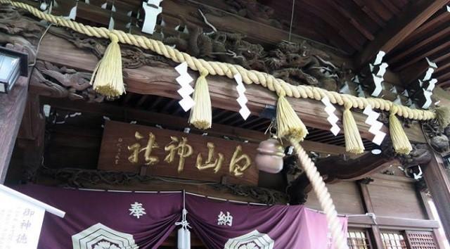 文京区の名坂(東京坂道ゆるラン)紫陽花祭りの白山神社と薬師坂