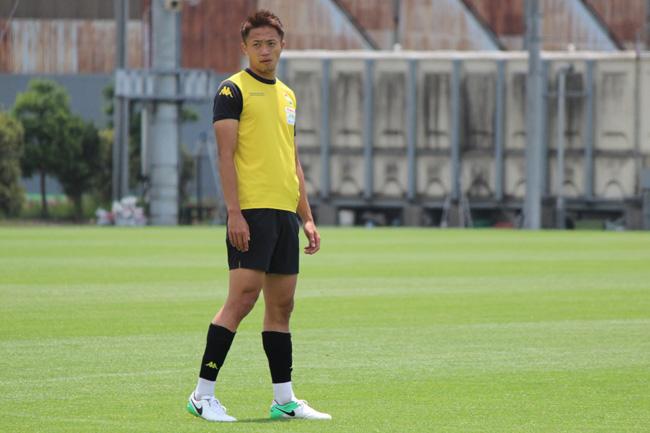 岡野洵選手「相手に合わせた守備ではなく、相手にそうさせる守備ができるようになりたい」