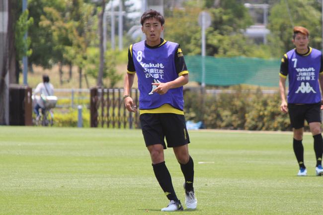 高橋壱晟選手「すごく独特なサッカーをしてくると思うので、ボールをすぐ奪うことが大事」