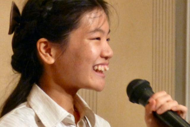子ども若者シンポ「家族の視線が支えに」橋本歩美さん(兵庫・18歳)