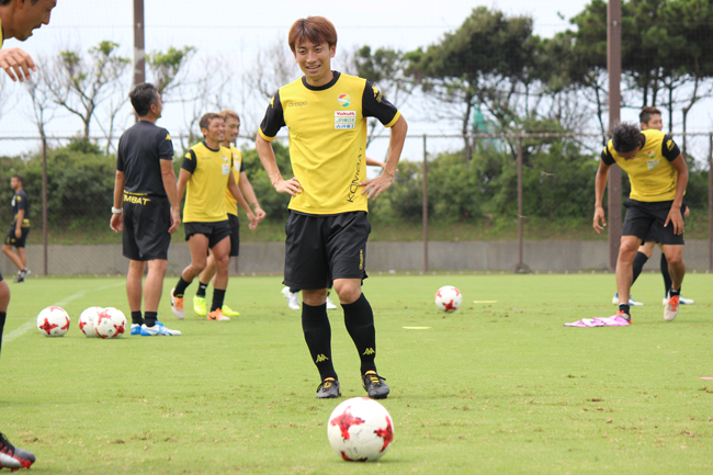 矢田旭選手「チーム全体の力でどんな苦しい展開もしっかり乗り越えていきたい」