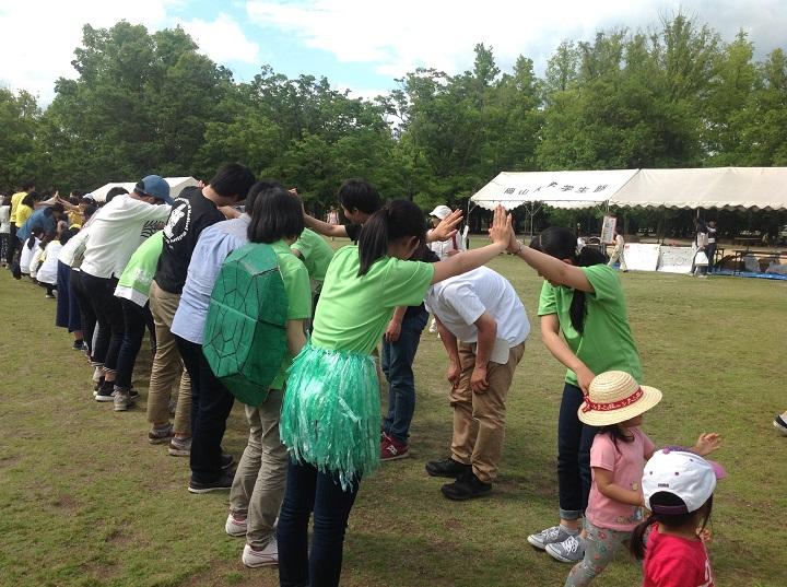 「第47回岡山春の子どもまつり実行委員会」にお話しを伺ってきました。