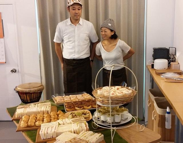 【ひと】タイでのご縁から本郷へ。手作りパンやサンドイッチを出張販売/松戸のラ・コリーヌ洋菓子店