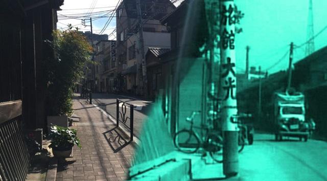 文京区の名坂/菊坂エリア(菊坂・鐙坂・炭団坂)−動く古写真−