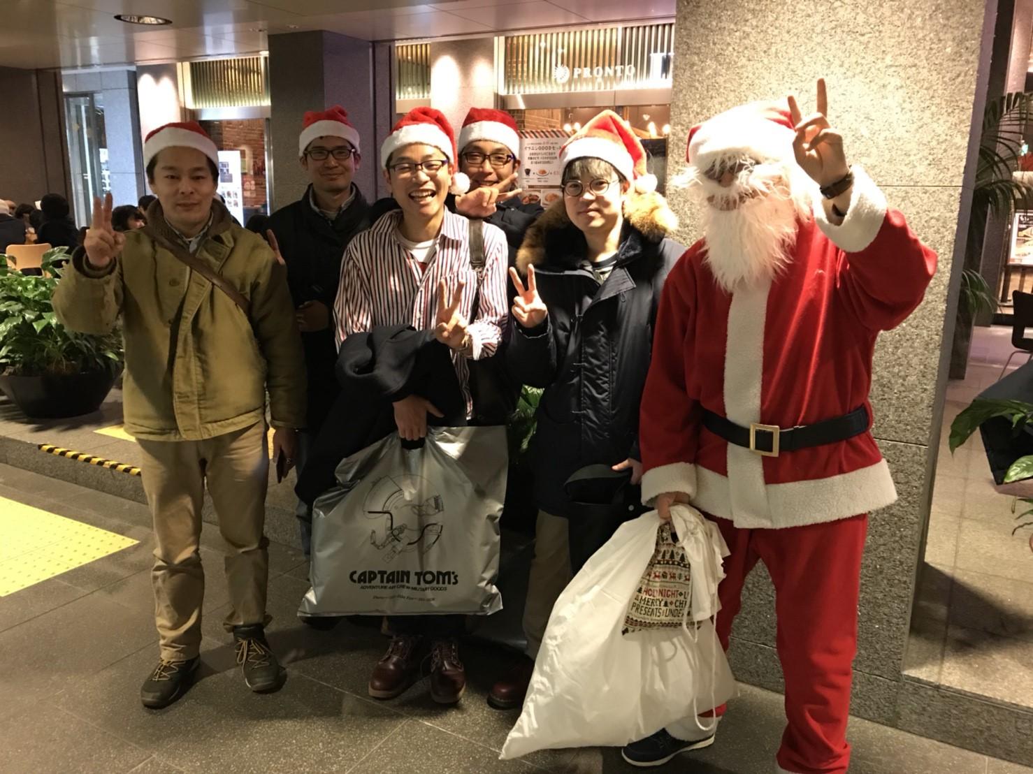 札幌のサンタクロース仲間に出会えてよかった!