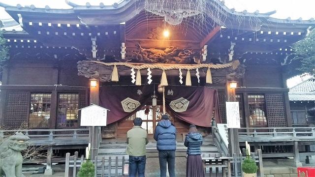 東京十社めぐりの一つ、アジサイで有名な白山神社