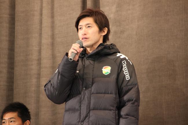 増嶋竜也選手「一度はこのユニフォームを着たいという思いがどこかであった」