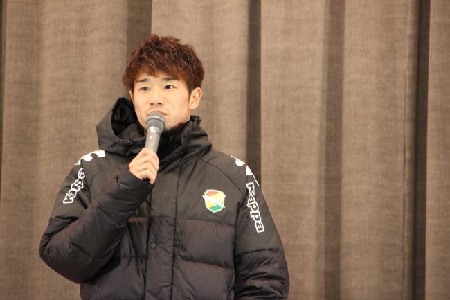 高木利弥選手「自分の特長をまずは千葉で発揮することで、皆さんに認めてもらうことが最初(に必要なこと)」