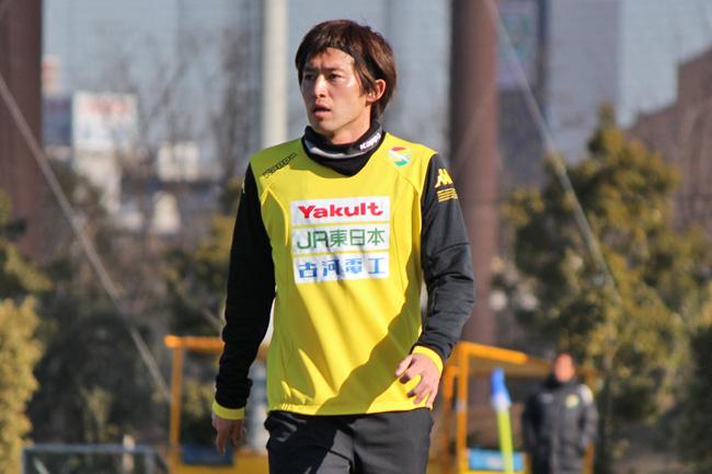 増嶋竜也選手「みんな明るいし、うまい選手が多いので、楽しくやっています」