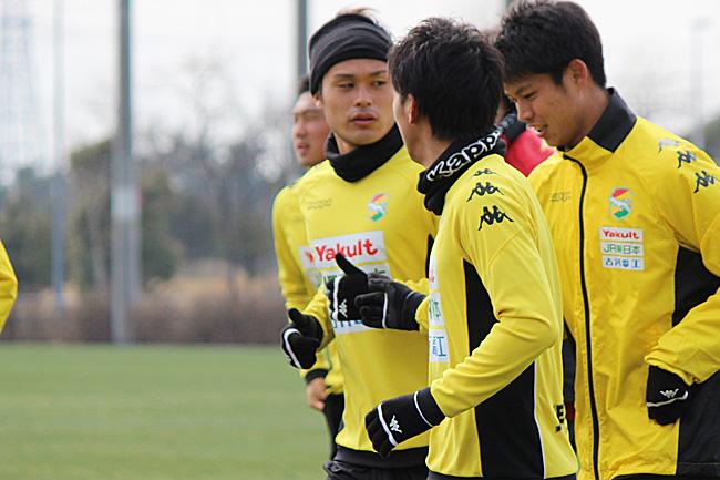 為田大貴選手「(左サイドの)3人の関係で崩せるシーンも作りたい」