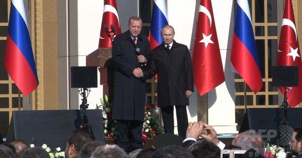 トルコで原発が着工・・・プーチンが式典に参加とは日本の売り込みは失敗したのか?