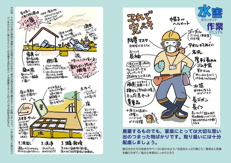 【平成30年7月豪雨】災害ボランティアに参加する前に (2018年7月13日)