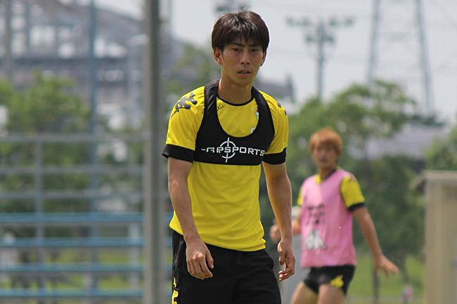 茶島雄介選手「前で出るからにはゴールという結果を求めていきたい」