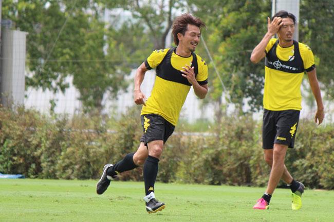 工藤浩平選手「選手、監督、スタッフなど、サポーターも含めて1つになって、1回勝つことでチーム全体がいい雰囲気になるようにしていきたい」