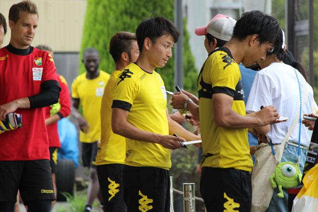 矢田旭選手「(前回の新潟戦は)悔しい試合でもあったので、その借りを返すつもりで強い気持ちを持って臨みたい」