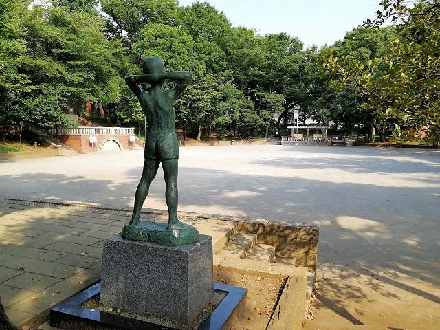 文京区ラジオ体操発祥の地へ!歴史とモダンあふれる大塚公園