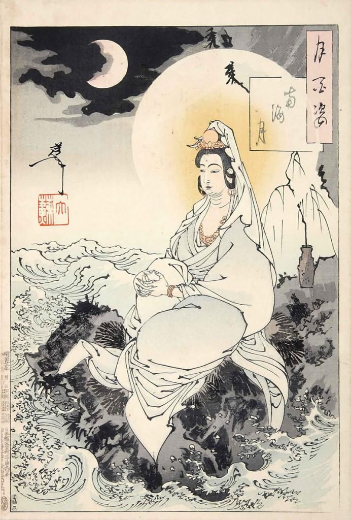今から130年前、最後の浮世絵師【月岡芳年】が描いた月がなんともシュールで未来系・・・
