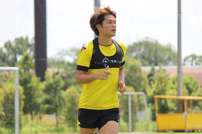 為田大貴選手「他の人よりも自分がやらないといけないプレーは決まっているというか、徹底して仕掛けるというところだけ」
