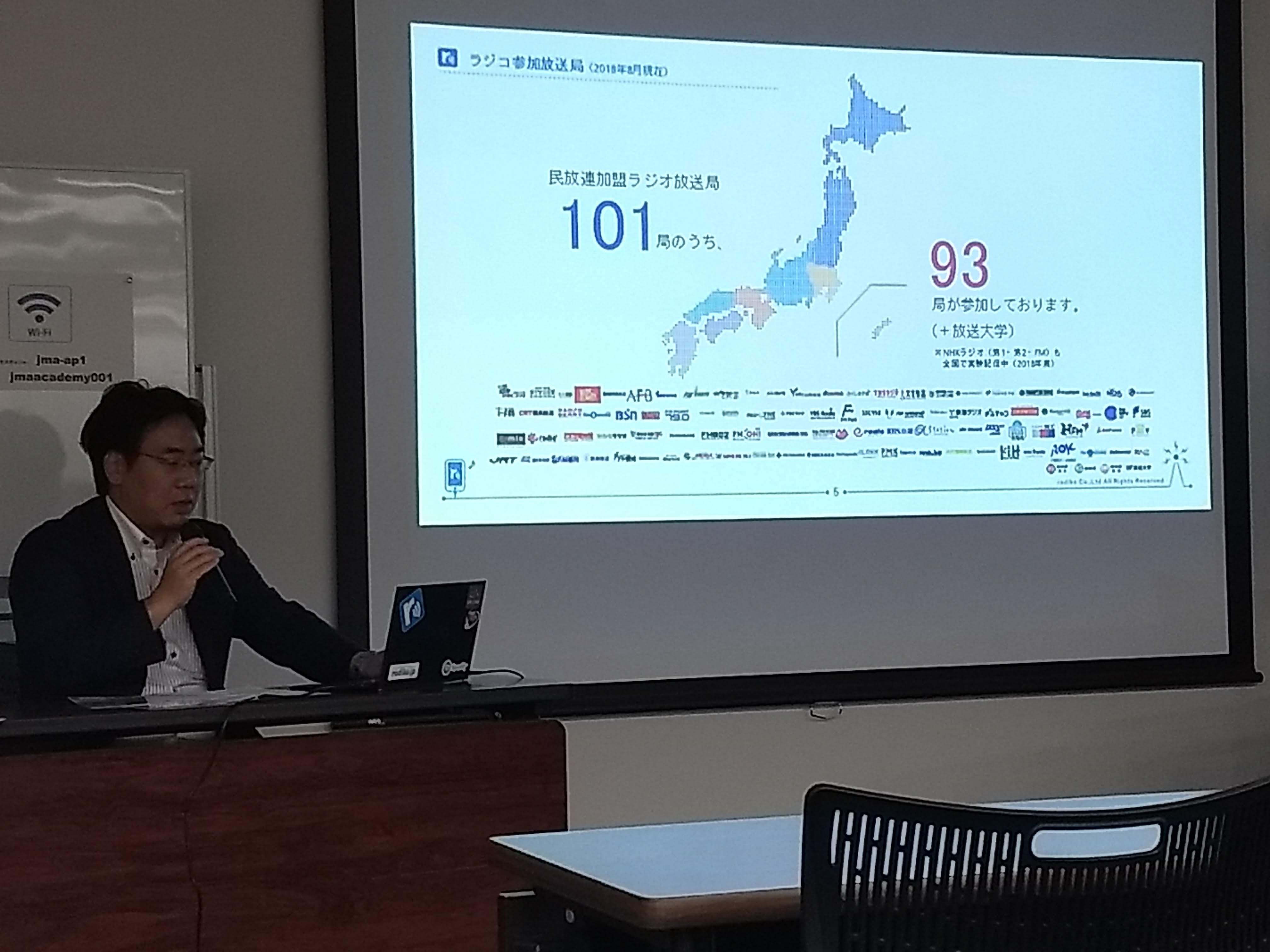 ラジコオーディオアドの可能性〜ミライテレビ推進会議レポート《2018年8月》〜