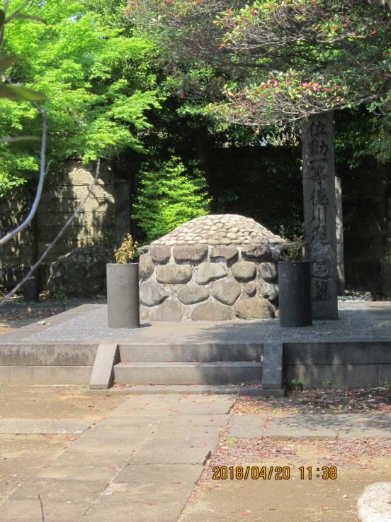 【都内、幕末維新史跡・七】谷中霊園