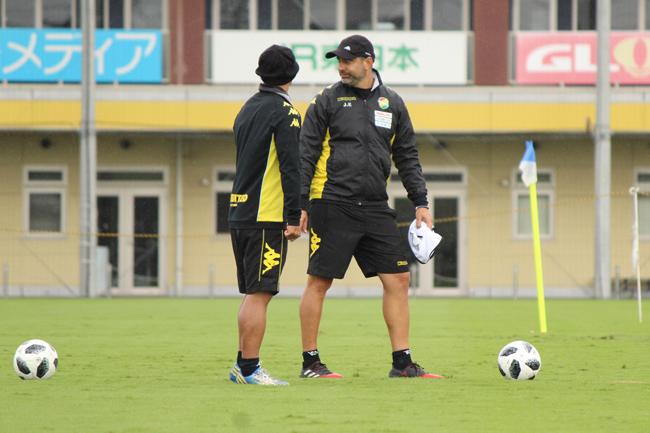 フアンエスナイデル監督「試合はおもしろい試合にはなります。結果はわかりません」