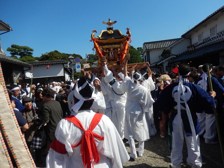 「秋祭」だよ、倉敷美観地区!