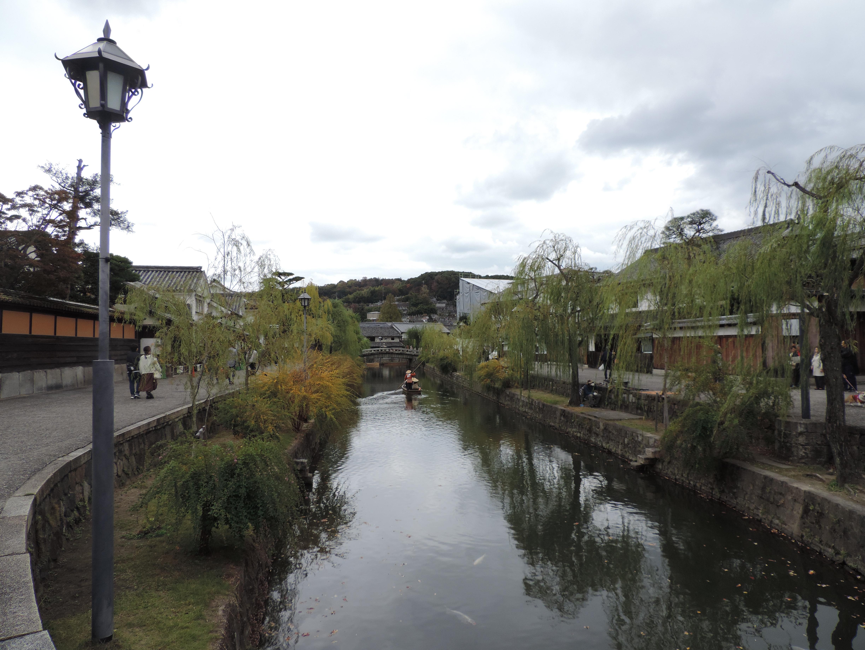倉敷美観地区、散歩、2018-11月