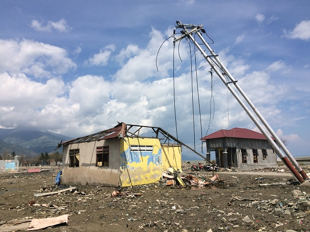 スラウェシ中部地震被災地への訪問記(1)(松井和久)