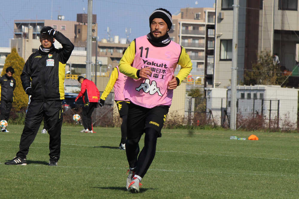 佐藤勇人選手:「みんなすごく前向きですし、やる気に満ちあふれている」