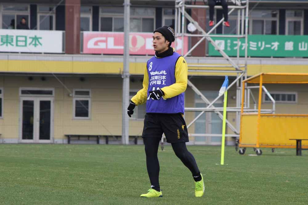 為田大貴「勢いに乗れる大事な試合だと思いますし、自分たちが持っている力を出していかないといけない」